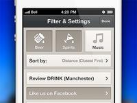 Filter & Settings