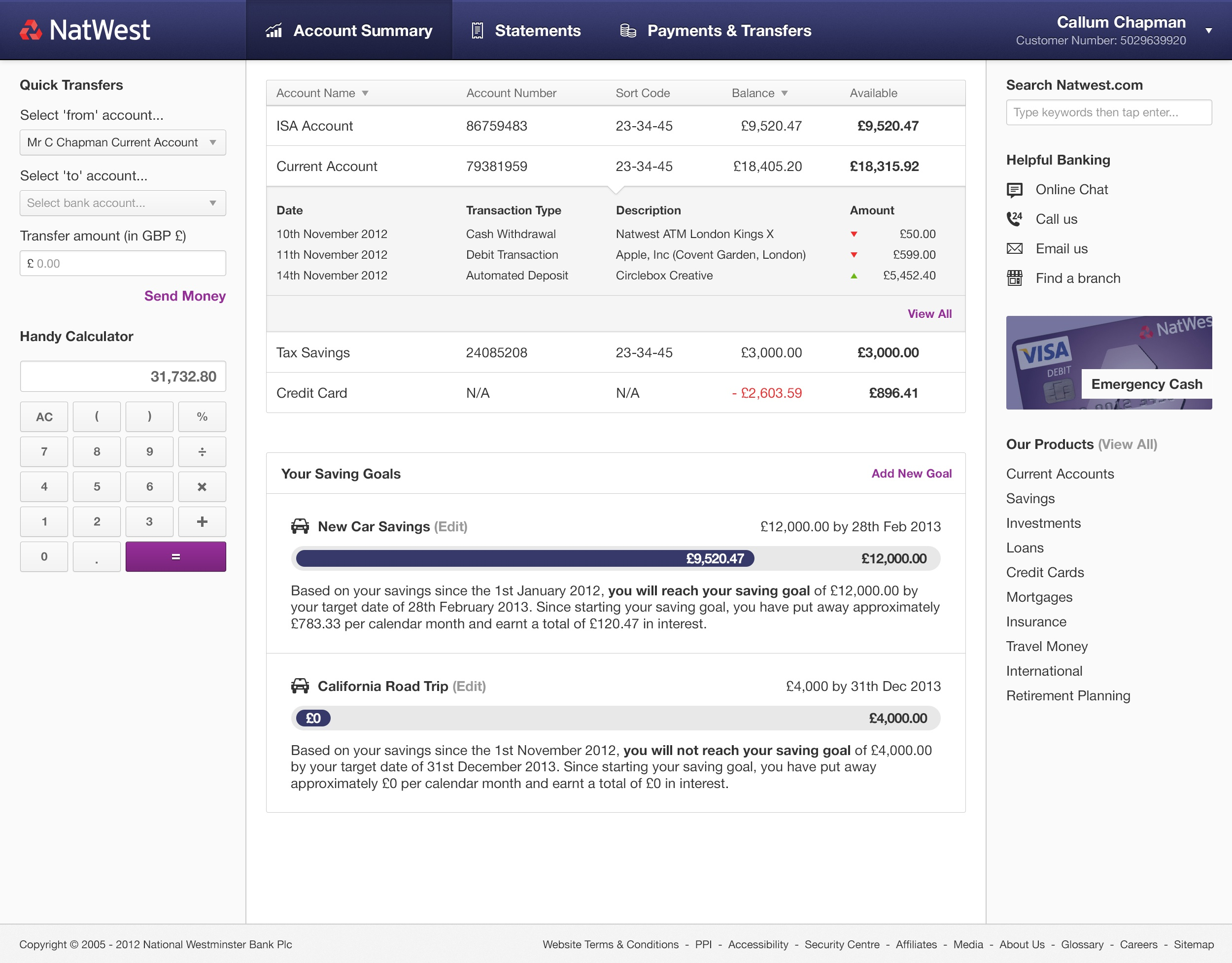 callum chapman projects natwest redesign dribbble