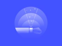 Alpha Icons / Future Wearable Spot Illustration
