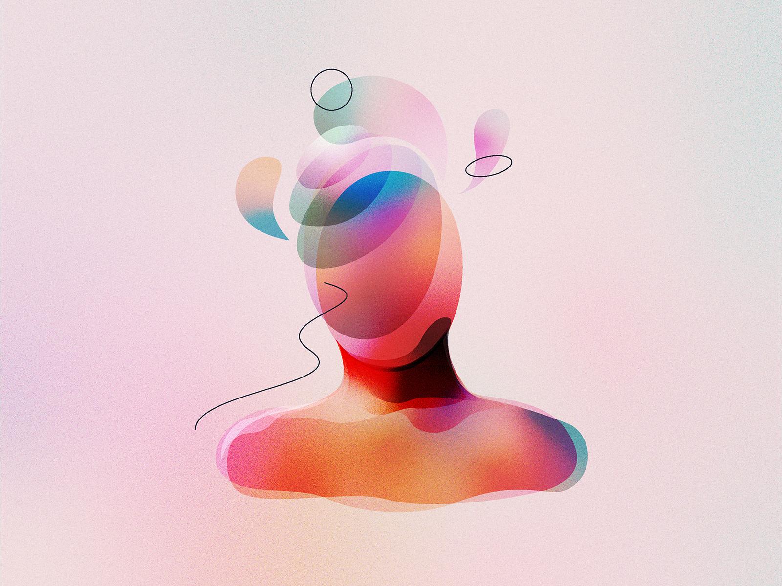 Surreal human mind illustration by antlii 4x