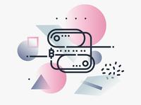 Fintech Concepts / Blockchain Illustration