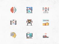 Futuro Next Icons / Technology Pack