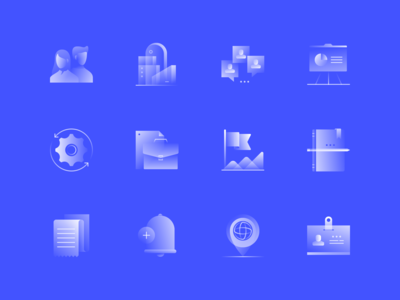 Alpha Icons / Business Set