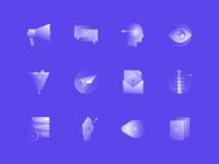 Alpha Icons / Marketing Set