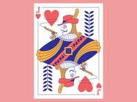 Jack of Hearts Card Design
