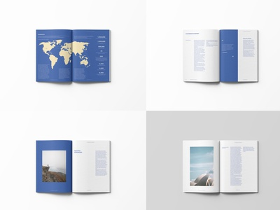 Annual Report | Toitu — Department of Sustainability type photography conservation sustainability branding illustration annual report