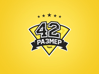 42 Size team logo team 42 size