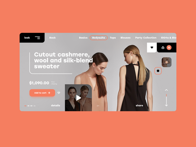 eCommerce concept typography fashion ecommerce scetch figma photoshop minimal creative graphicdesign userinterface freelance inspiration landingpage ux ui webdesign interface web website design