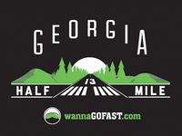 Georgia Half-Mile T-Shirt