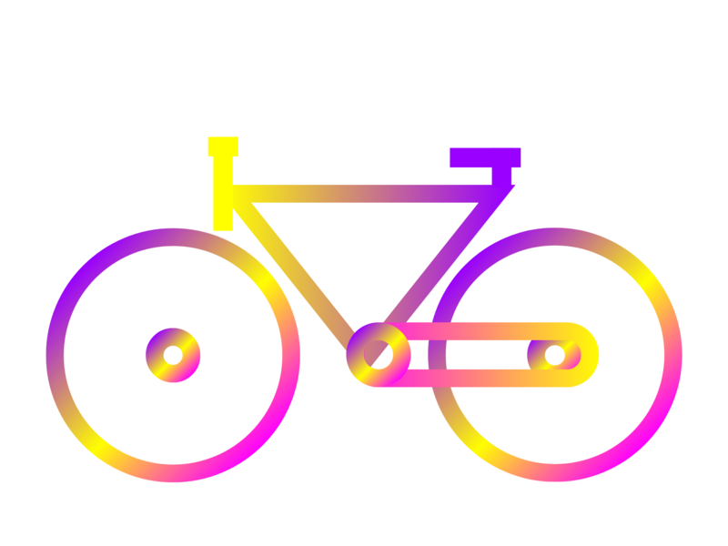 Bicycle motor sport book colorful design colorful bicycle clean flat design vector illustrator illustration