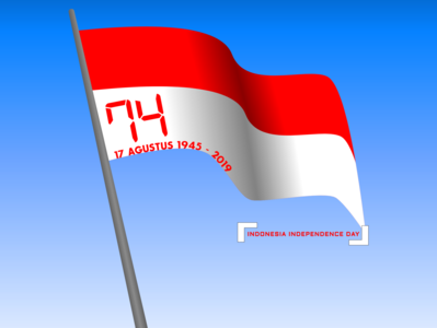Indonesia Independence Day 2019 illustration indonesia designer indonesian independence day independence day flyer flag independenceday indonesia