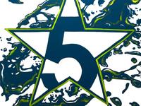 Logo Design for 5 Star Packaging  by Mark Gray