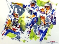 New England Patriots Tribute by Mark Gray