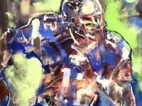 Tom Brady by Mark Gray