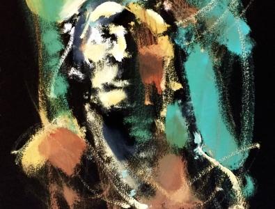Native American Man by Mark Gray