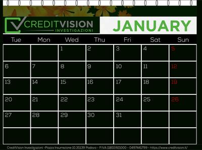 CreditVision calander 08 01 20 01