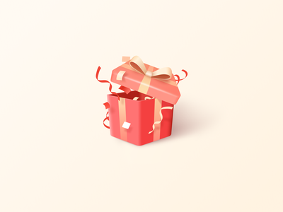 Present Box icon box present figma illustration ui design