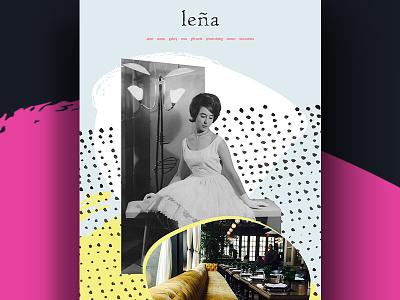 Lena Restaurant Website digital responsive wordpress art direction restaurant website