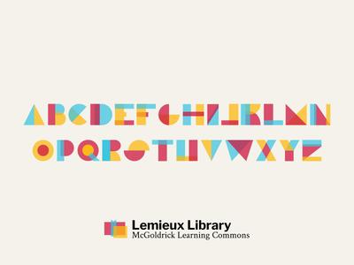 Lemieux Typeface