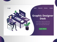Graphic Design Desk