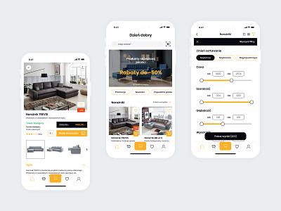 Furniture app furniture app app design ui stylo