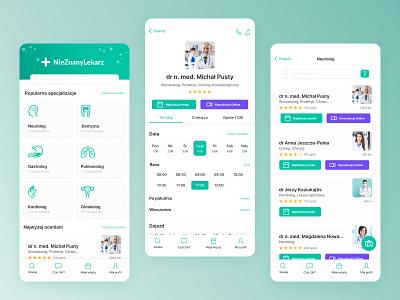 Medical app - concept ios mobile ui app design medical stylo ux ui app