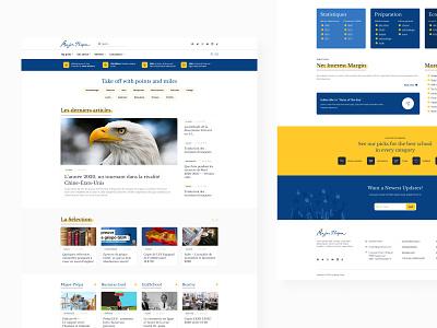 Major - Prepa articles schools school seahawk media website web stylo poland ui