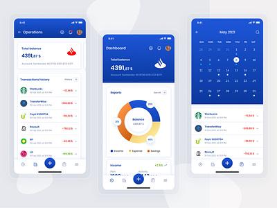 Finance Tracker Mobile mobile list diagram calendar ui mobile app mobile design mobile ui finance stylo ux ui figma