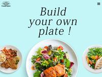 food company UI Design