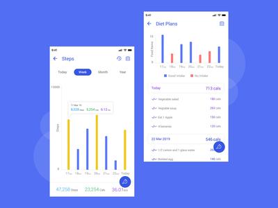 Health Activity Tracking App