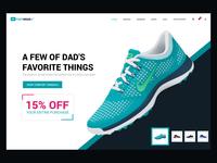 Footwear Marketing Website