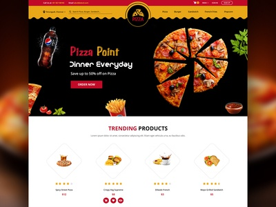 Pizza Point Website
