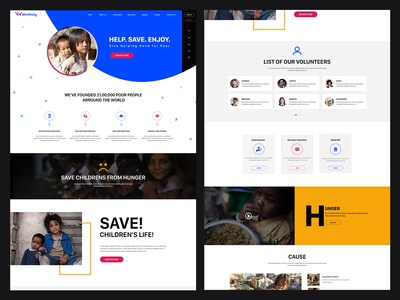 Website Concept for Poor