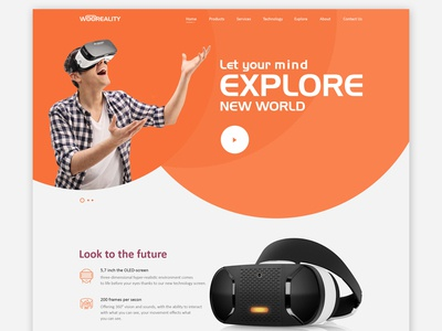 Virtual Reality Website