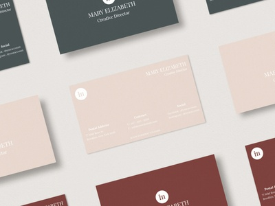 Minimal Business Card Template - Vol.01