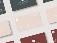 Minimal Business Card Template - Vol.01