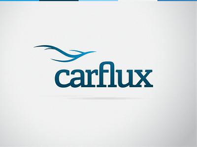 carflux Logo car transport iot vein traffic smart flow river engine odb hakcathon water