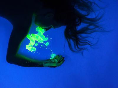 Death future jelly gelatin glow uv light death