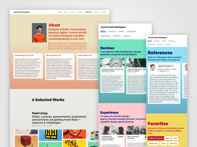 Updated portfolio website tech civic webflow portfolio
