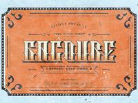 Gacoure - Layered Typeface