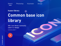 Common base icon  library