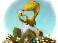 Poetic Velociraptor