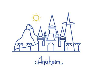 Anaheim rebound anaheim disneyland angles matterhorn sunny
