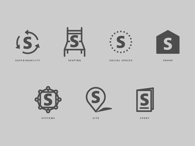 Seven S's Of Architecture Design Icons