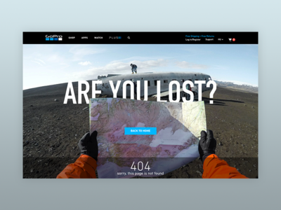 404 Page – GoPro