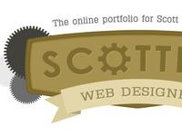 Scottify Logo Concept (Different Cog)
