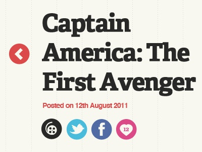Blog Post Redesign blog post title captain america redesign