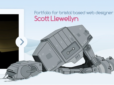 Scottify Redesign (AT-AT Walker) scottify star wars
