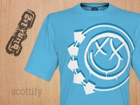 blink-182 T-Shirt Design