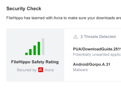 Safety Rating security program clean ux ui rating safety